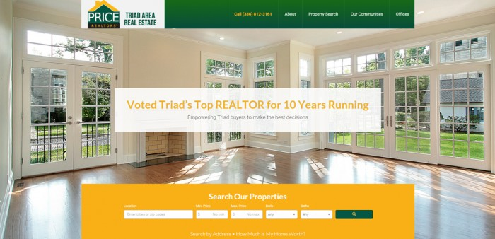 Advanced real estate wordpress website. Highly customized design and functionality with IDX listing integration and much more.… Read more