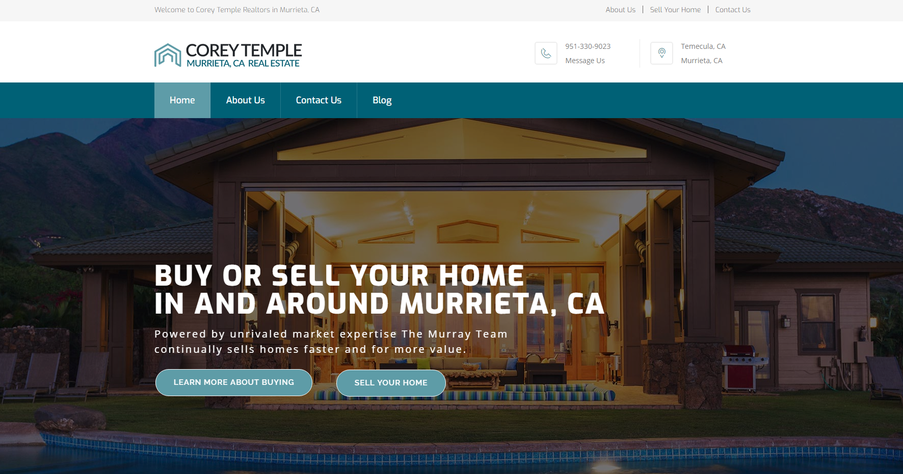 Developed a professional online presence for Corey Temple Realtors. Beautiful styling, professional and clean design and imagery that lends itself to a luxury real estate company.… Read more