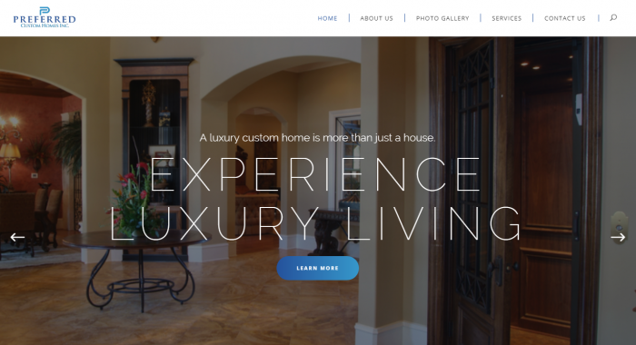 Website re-design to a modern minimal site with an air of luxury for this professional custom homes company.… Read more